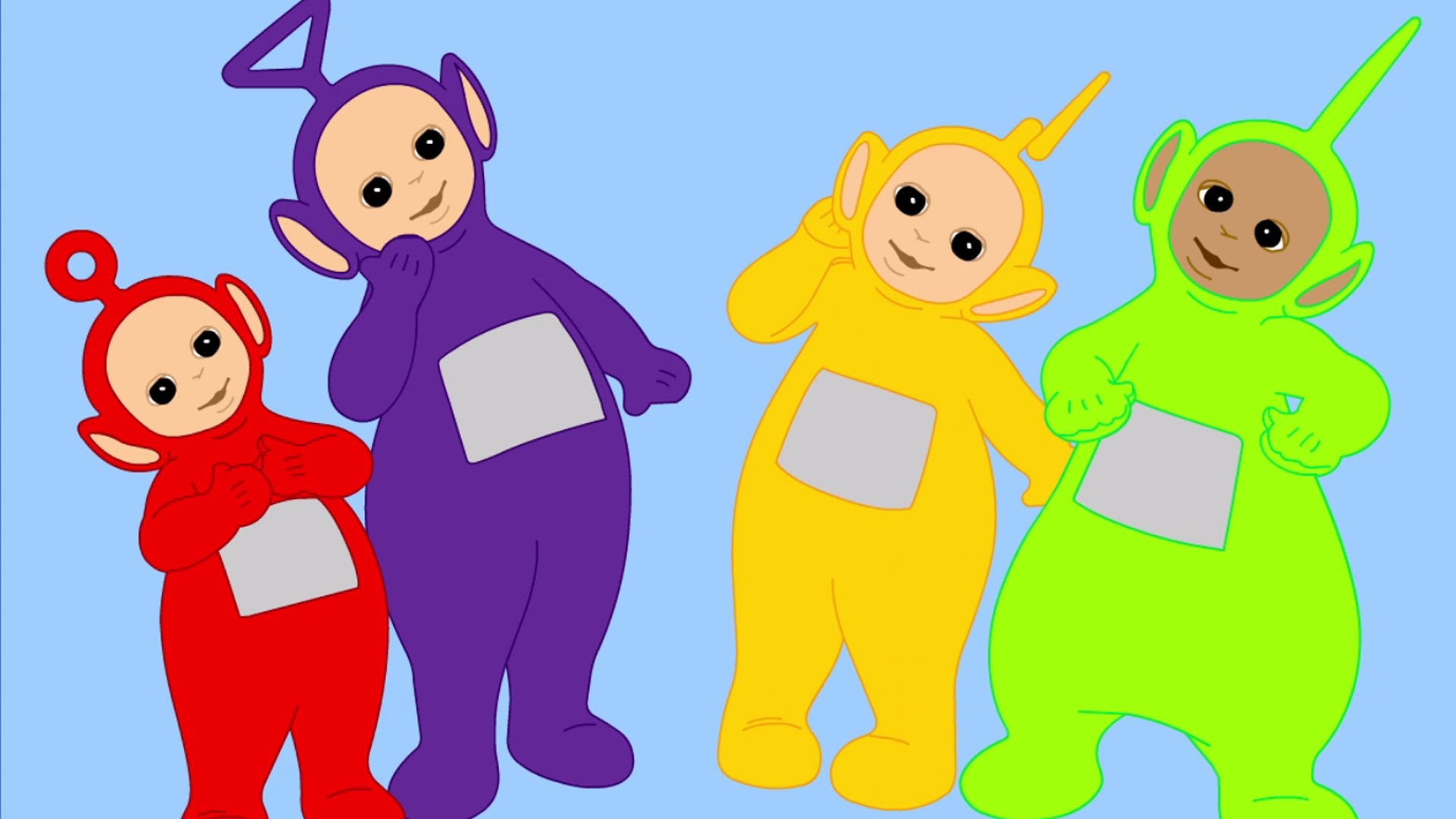 1920x1080 Teletubbies