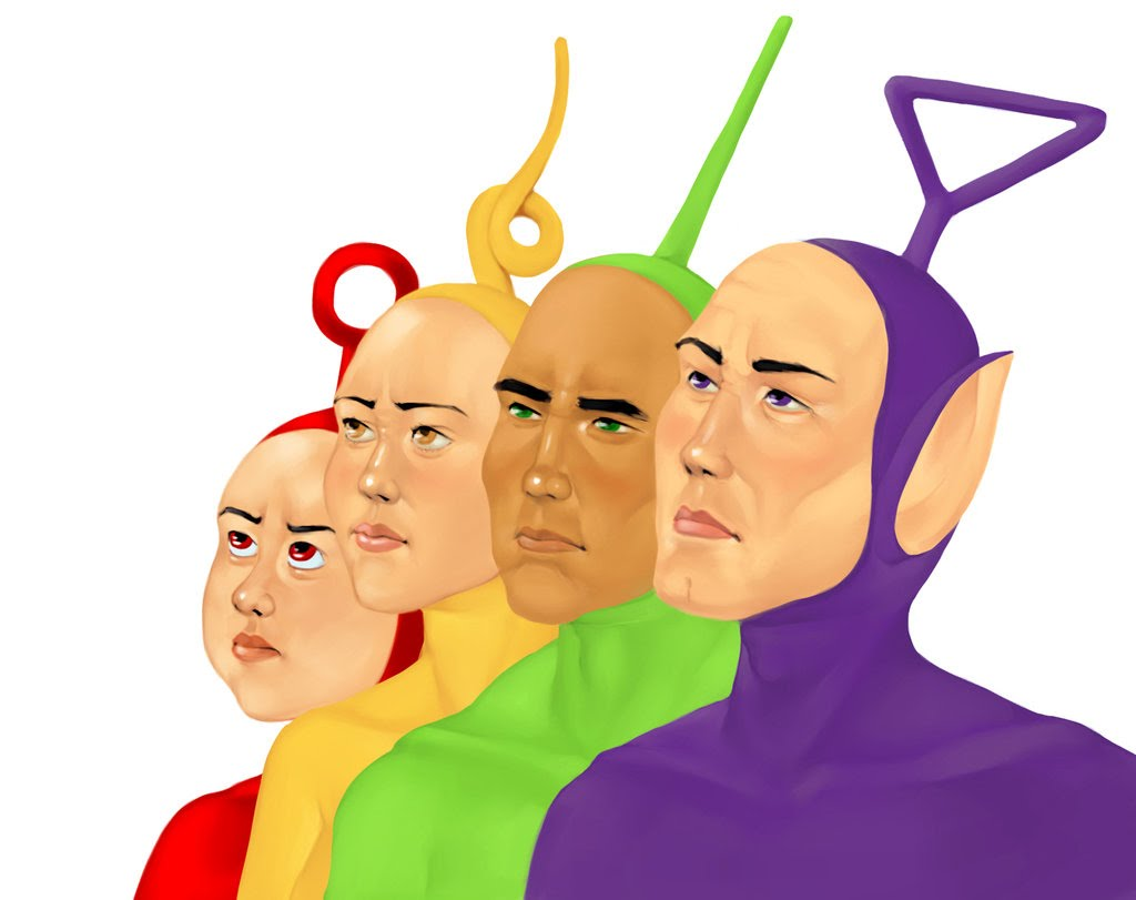 1024x811 Teletubbies In The City