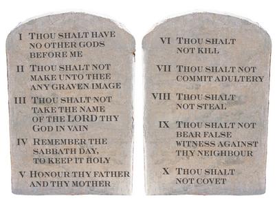 403x298 Ten Commandments Hold The Faith