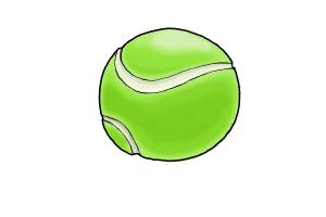 300x200 How To Draw A Tennis Ball