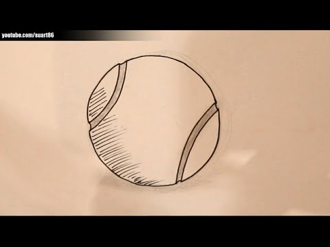 480x360 How To Draw A Tennis Ball