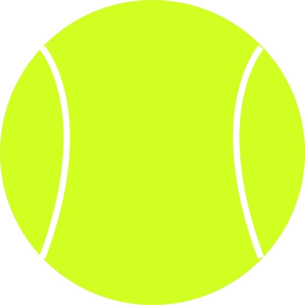 600x600 Tennis Ball Clip Art Free Vector In Open Office Drawing Svg ( Svg