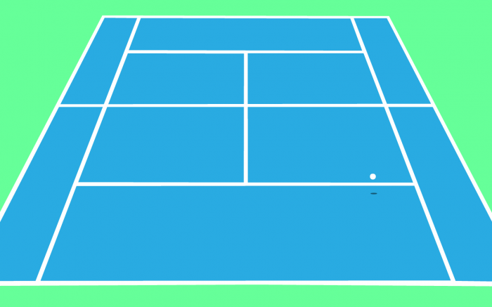 Tennis Court Drawing At Getdrawings