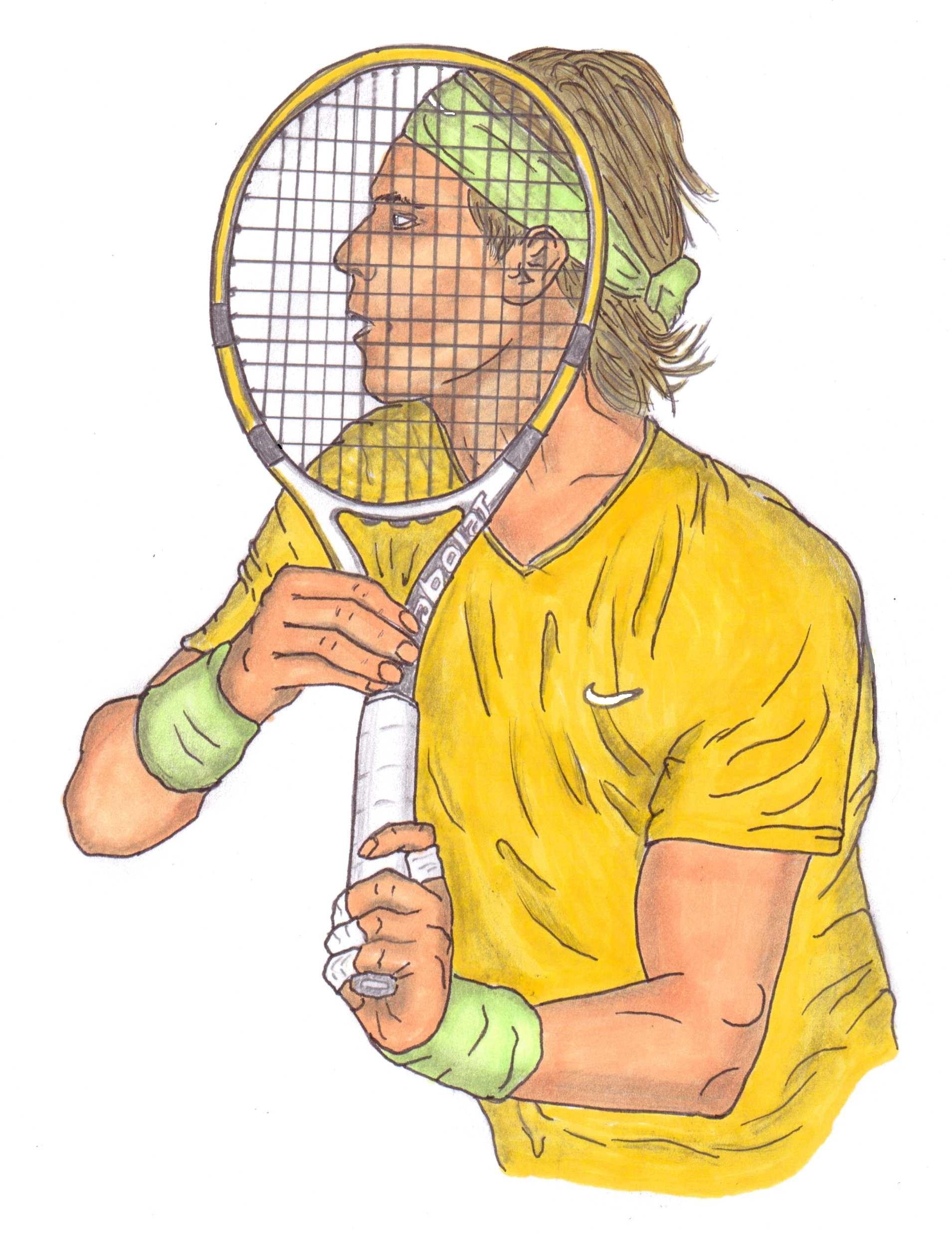 1909x2474 Framed Art By Steven White Bring Your Racquet