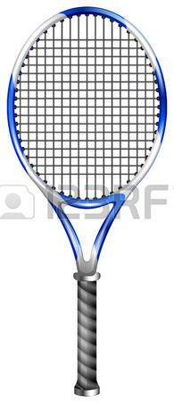 195x450 Free Drawing Of Tennis Racket From The Category