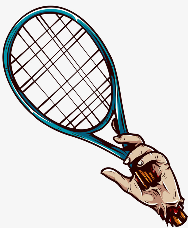 650x787 Through The Hands Of A Tennis Racket Image, Hand, Tennis Racket