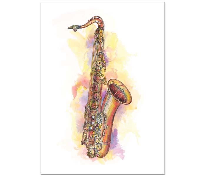 700x600 Yamaha Yts475 Tenor Saxophone Jazzdrawings.co.uk