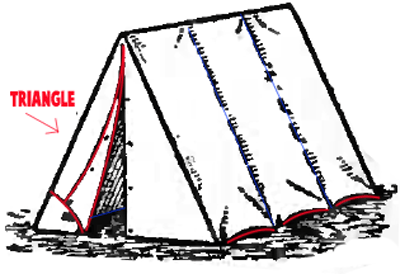400x274 How To Draw Tents