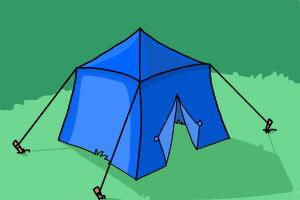 300x200 How To Draw A Tent