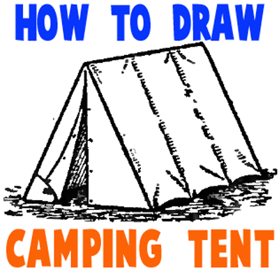 400x400 How To Draw Tents