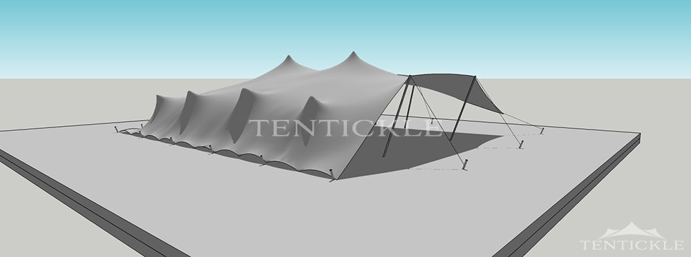 1000x373 Stretch Tent Visualisation Amp 3d Drawing By Tentickle Tents