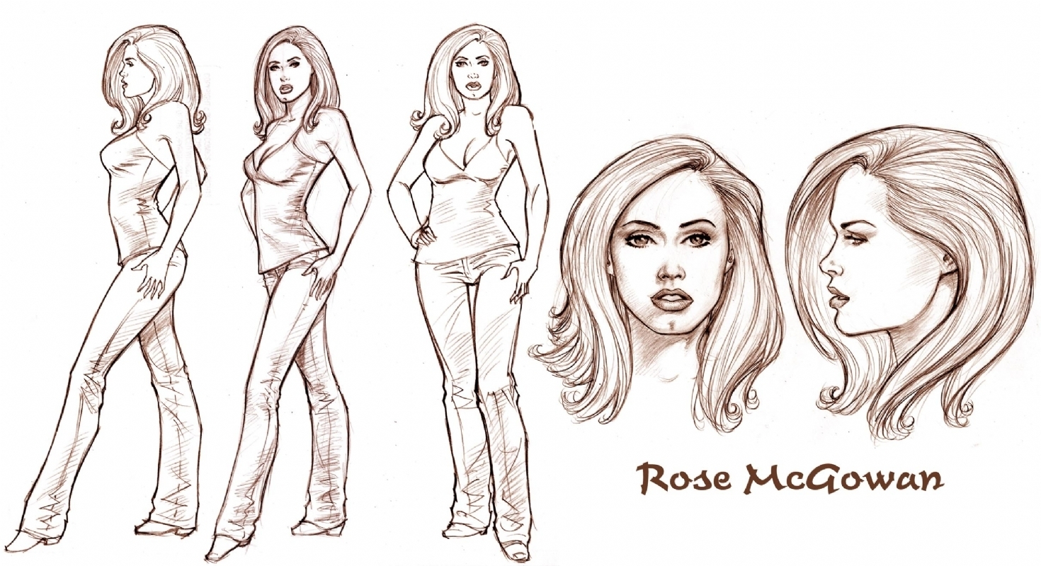 1470x800 Charmed Comics Images Test Drawing Of Rose (Dave Hoover) Hd