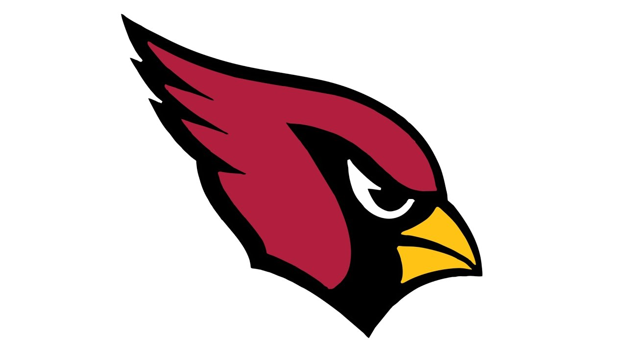 1280x720 How To Draw The Arizona Cardinals Logo (Nfl)