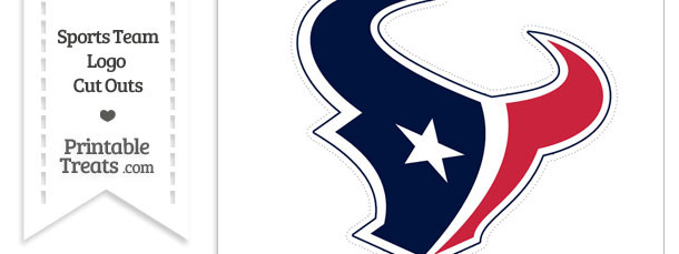 610x229 Large Houston Texans Logo Cut Out Printable
