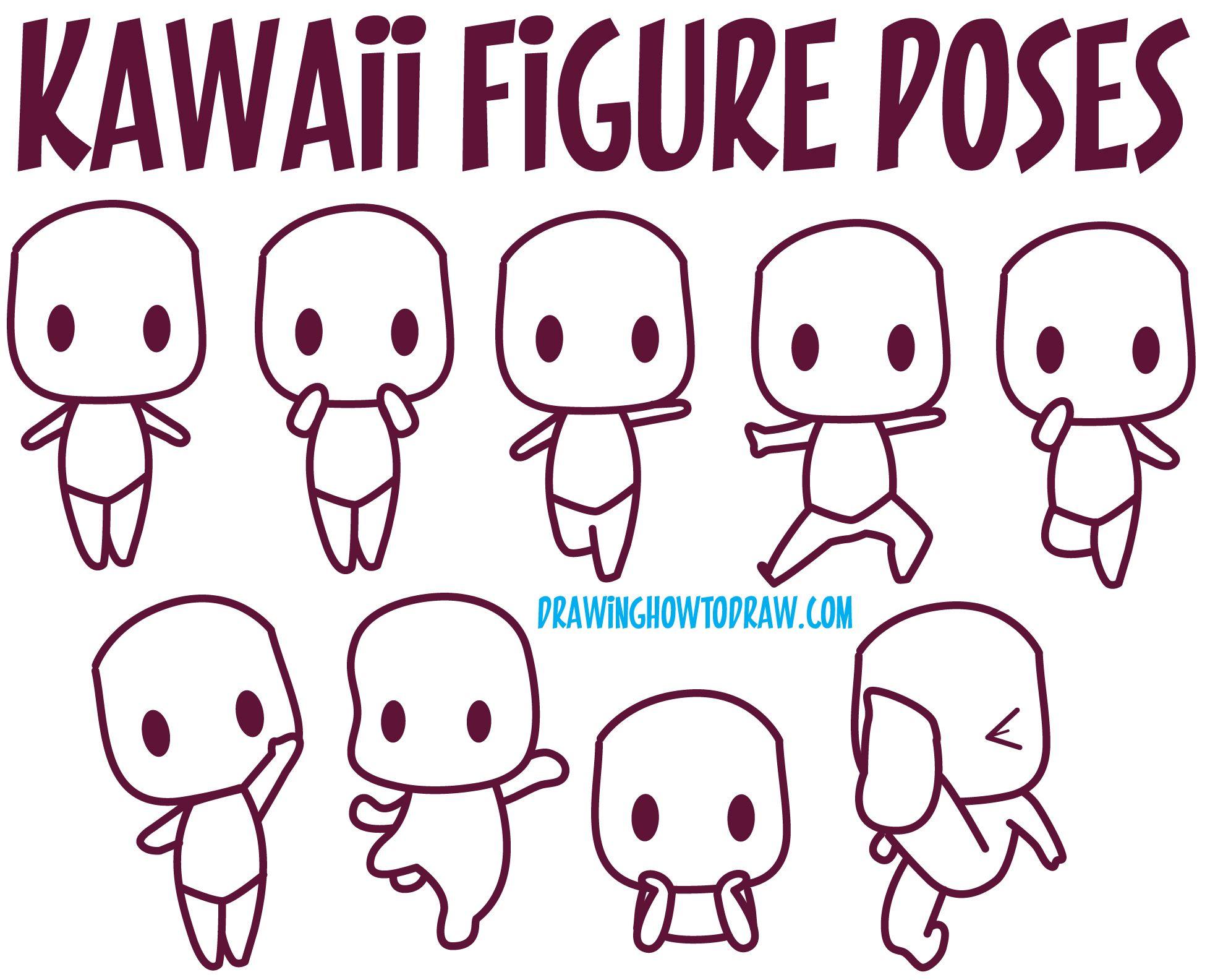1957x1584 Guide To Drawing Kawaii Characters Part 1 How To Draw Kawaii