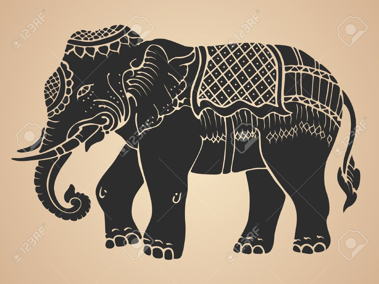 Thai Elephant Drawing At Getdrawings Free For Personal Use