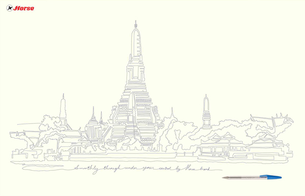 600x387 Thai Temple Drawingsart And Design Inspiration From Around