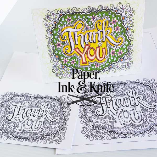 600x600 Thank You Cards