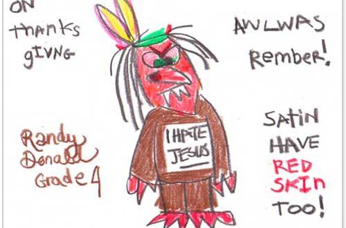 500x330 Thanksgiving Drawing Children's Thanksgiving Blessings