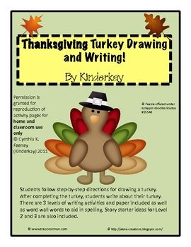 270x350 Students Follow Step By Step Directions For Drawing A Turkey