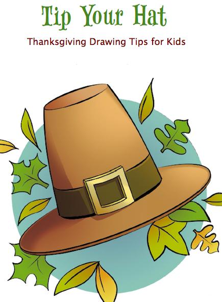 435x591 Thanksgiving Craft For Kids Draw A Pilgrim Hat