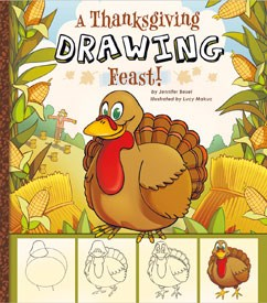 242x275 A Thanksgiving Drawing Feast! Capstone Young Readers