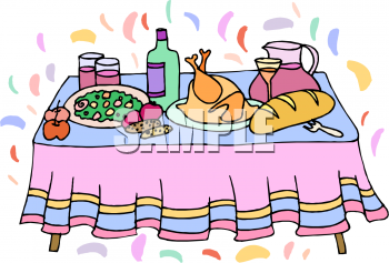 350x237 Royalty Free Dinner Clip Art, Food Clipart Thanksgiving Pumpkin