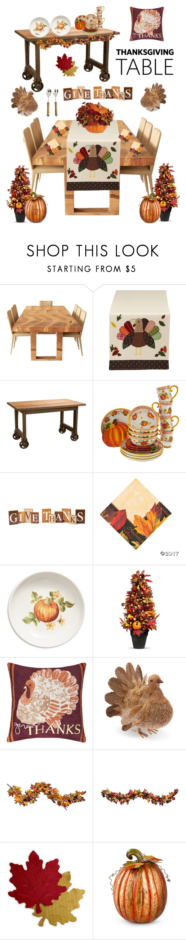 600x3032 Thanksgiving Table By Kotnourka Liked On Polyvore Featuring