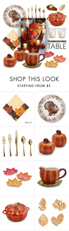 236x787 Thanksgiving Table By Lampsplus Liked On Polyvore Featuring