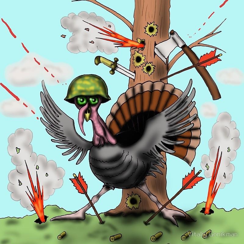 800x800 Funny Thanksgiving Turkey Drawing Mini Skirts By Vitaliy Gonikman