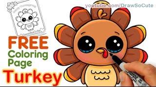 320x180 How To Draw A Roast Turkey Dinner Easy Realistic