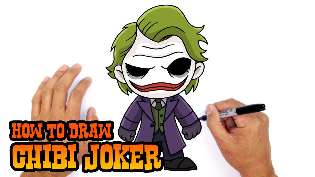 1280x720 How To Draw Joker Dc Comics