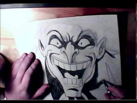 480x360 Let's Draw The Joker! Mark Hamill (Batman The Animated Series