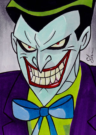 320x451 Batmanthe Animated Series Best Drawn Joker Ever! In My Opinion