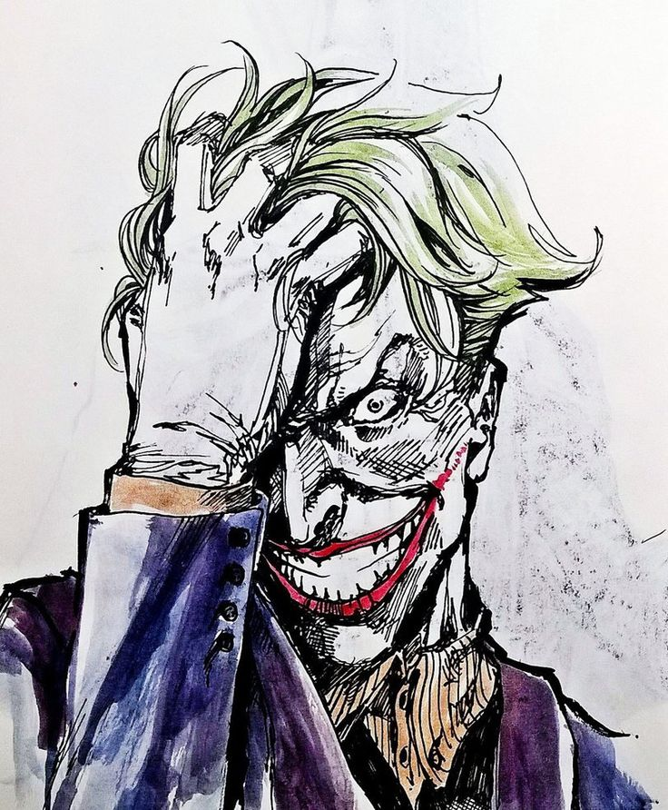 The Joker Comic Drawing At Getdrawings Free Download