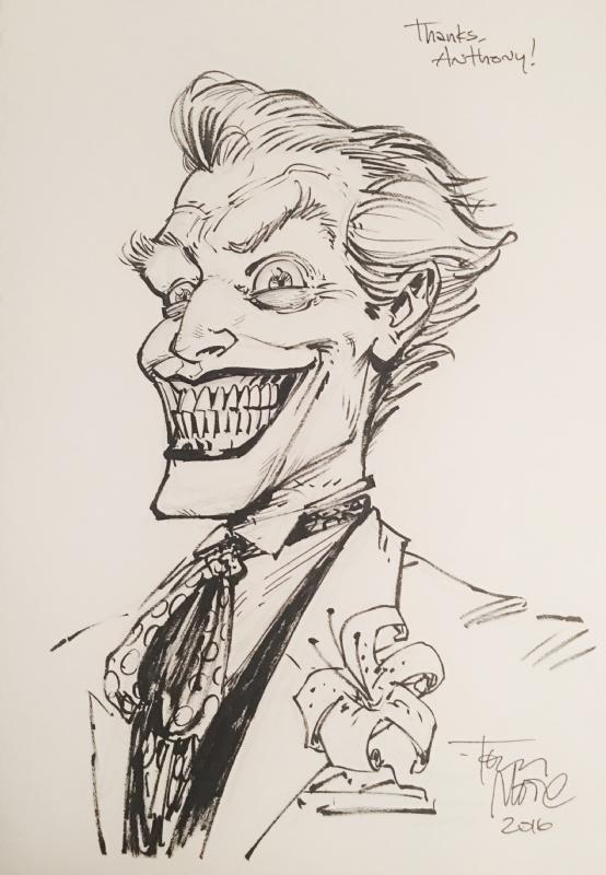 554x800 Joker By Tony Moore Comic Art Joker's Smile Joker