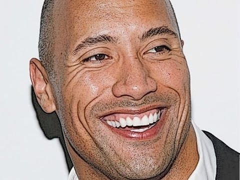 480x360 How To Draw The Rock Dwayne Johnson (Easy Tutorial) Step By Step