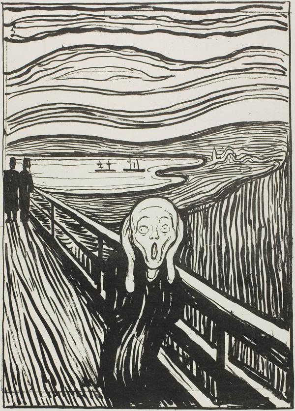 600x836 Er Zijn Drie Versies Van De Schreeuw Van Edvard Munch. Dit Is De