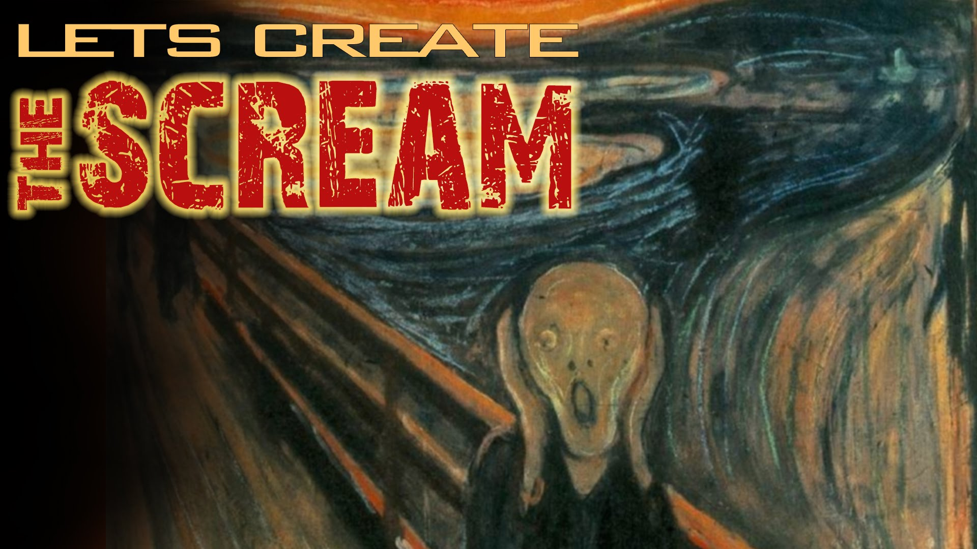 1920x1080 How To Draw The Scream By Edvard Munch