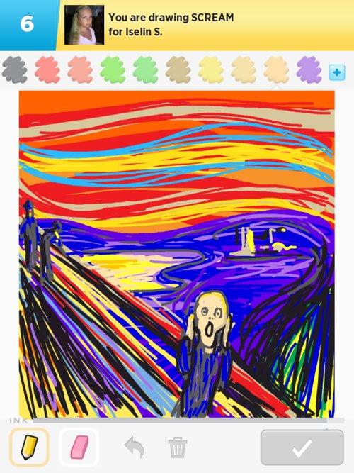 500x667 Scream Drawings