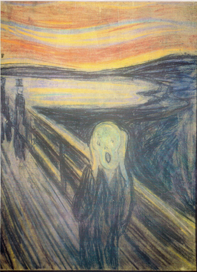 639x882 The Creation Of The The Scream By Munch Psychology Today