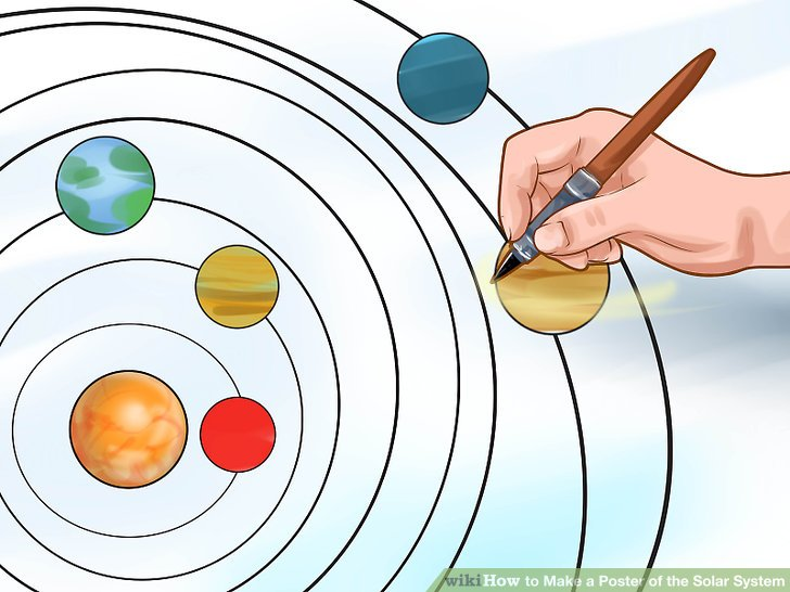 728x546 How To Make A Poster Of The Solar System 13 Steps (With Pictures)