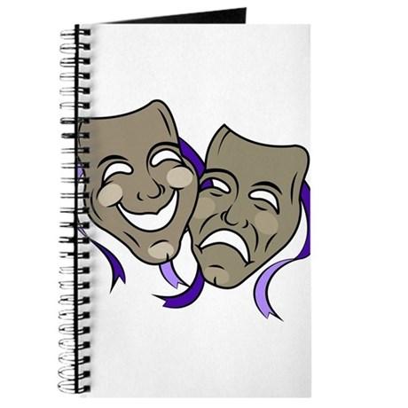 460x460 Theatre Masks Notebooks Theatre Masks Journals Spiral