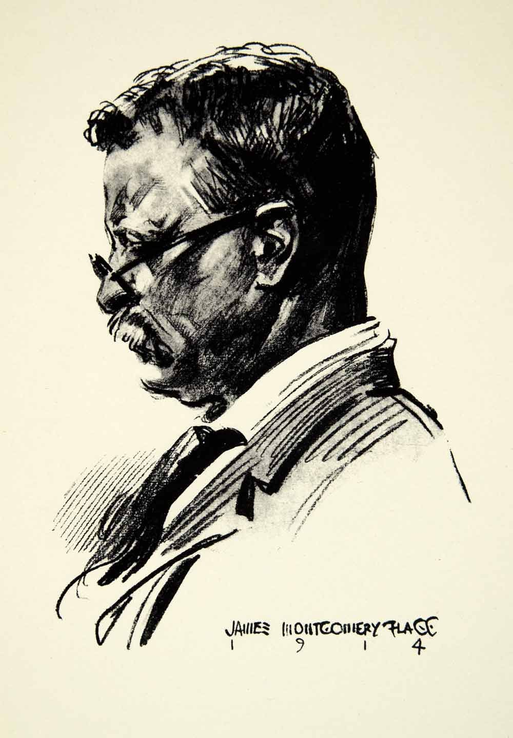 1000x1440 Theodore Roosevelt By James Montgomery Flagg (1914) Masterpieces