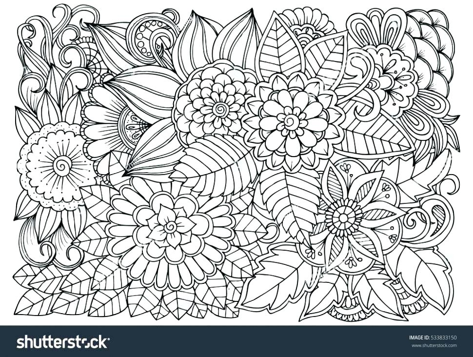 970x732 therapeutic coloring pages animals art therapy book miss i on