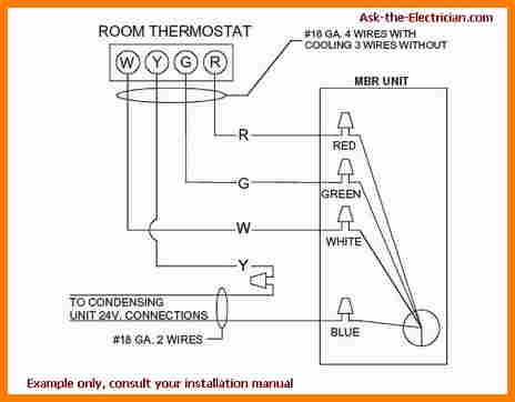 464x362 Wiring Thermostat To Furnace Cable Diagram