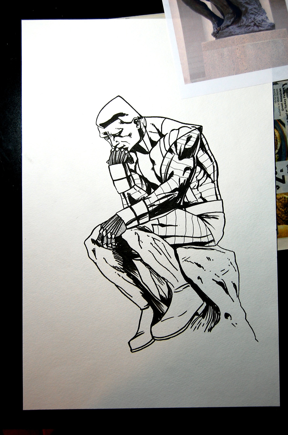 950x1433 115 Thinker Colossus Inks Sketchy Mcdrawpants