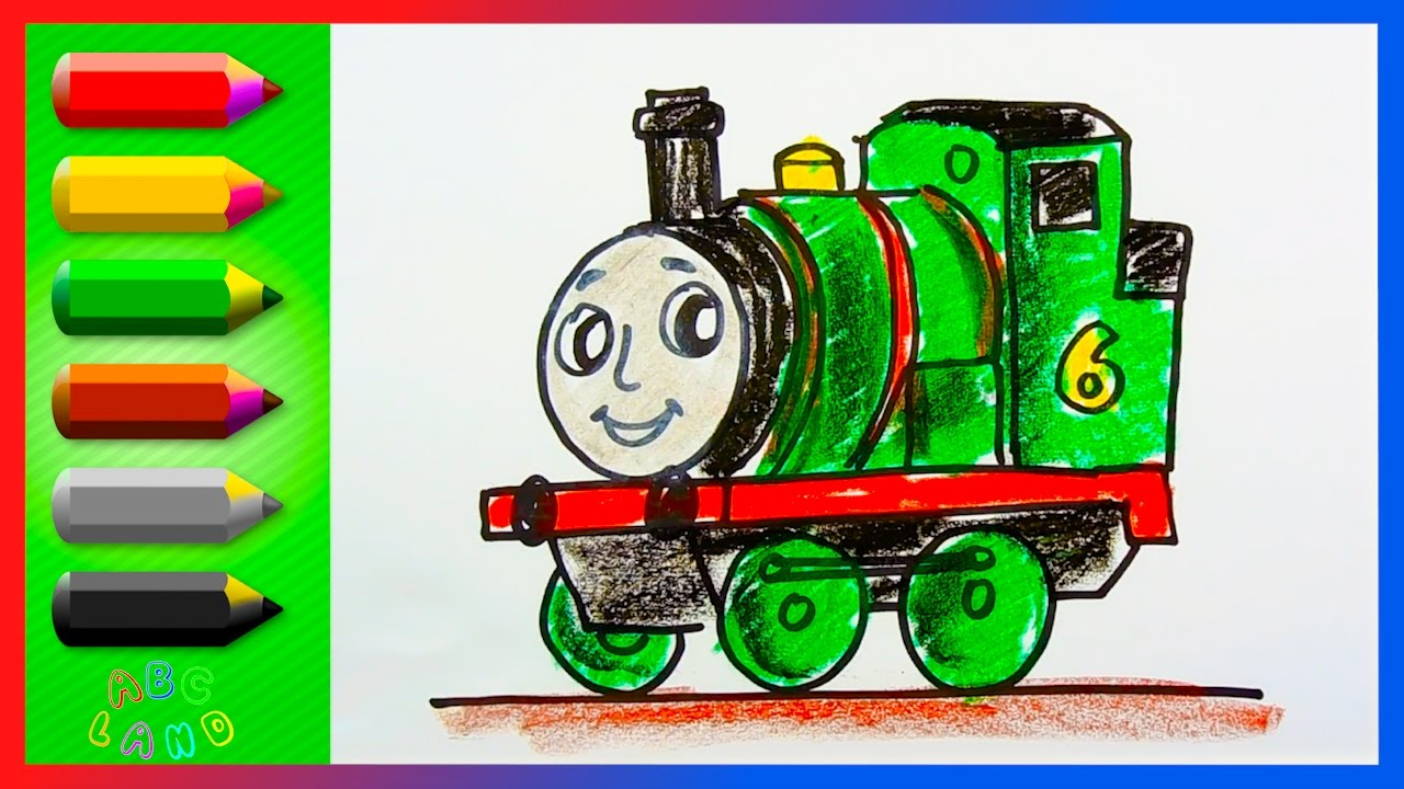 Thomas And Friends Drawing at GetDrawings.com | Free for personal ...