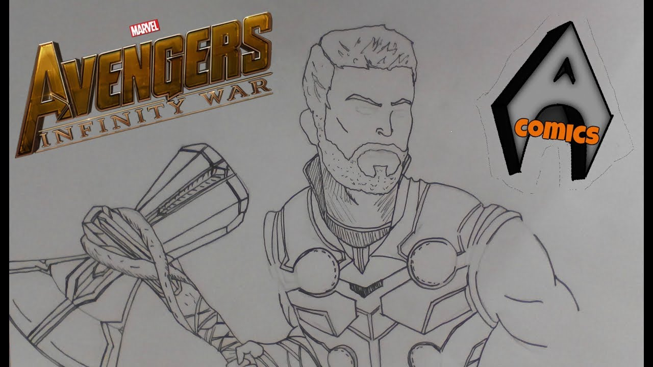Thor Avengers Drawing At GetDrawings