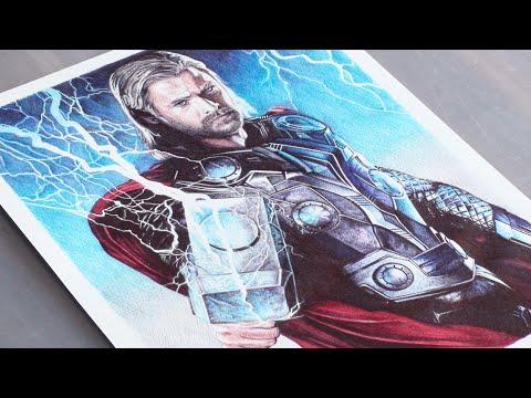 480x360 Thor Pen Drawing